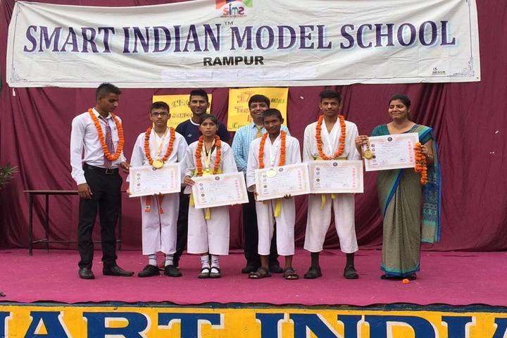 Smart Indian Model School-Karate Champions