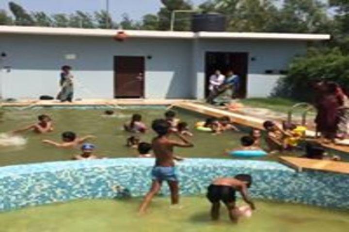 Smart Indian Model School-Pool Splash