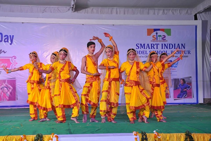 Smart Indian Model School-Cultural Fest