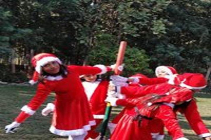 Smt. Kamla Agarwal Girls Public School-Christmas Celebrations