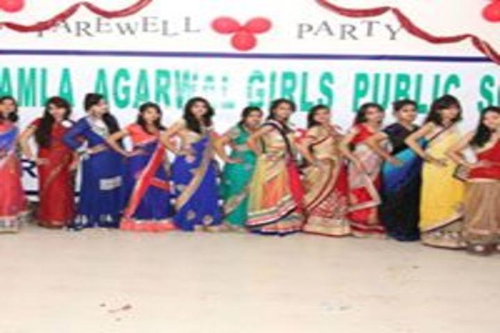 Smt. Kamla Agarwal Girls Public School-Farewell