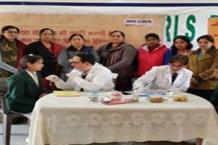 Smt. Kamla Agarwal Girls Public School-Health Check up