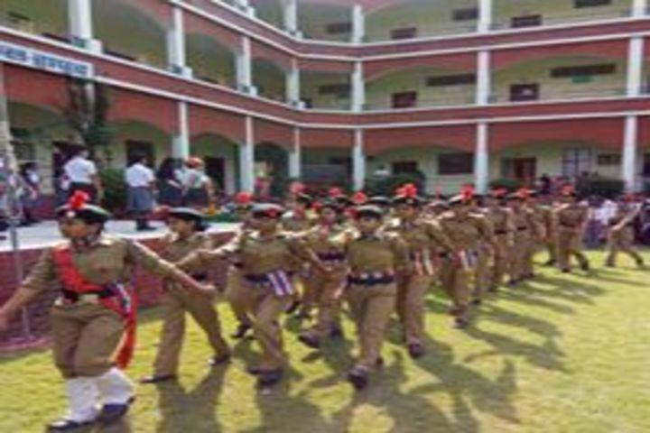 Smt. Kamla Agarwal Girls Public School-NCC