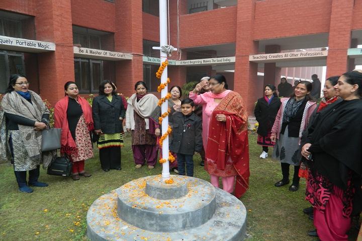Govt Model High School-Events republic day