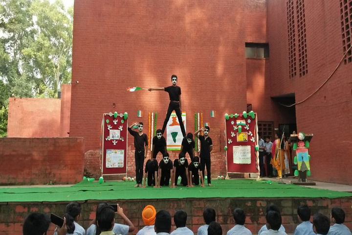 Govt Model High School-Events programme