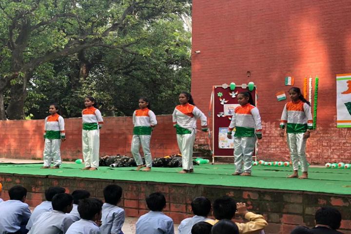 Govt Model High School-Events republic day programme