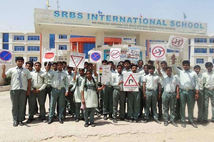 SRBS International School-Awareness Road Safety