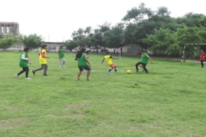Sri Krishna Academy-Football Match Competition