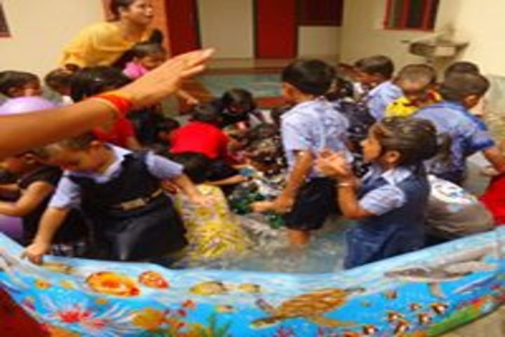 Sri Krishna Academy-Pool Splash