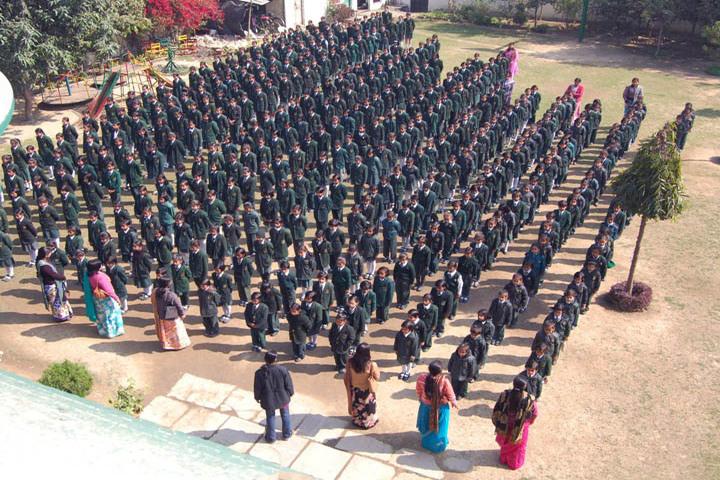 SS Children Academy Girls School-Assembly