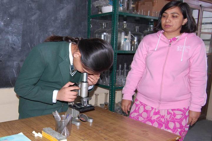 SS Children Academy Girls School-Bio Lab