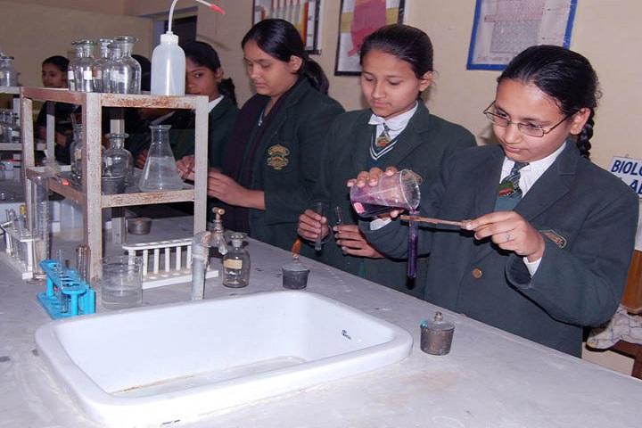 SS Children Academy Girls School-Chemistry Lab