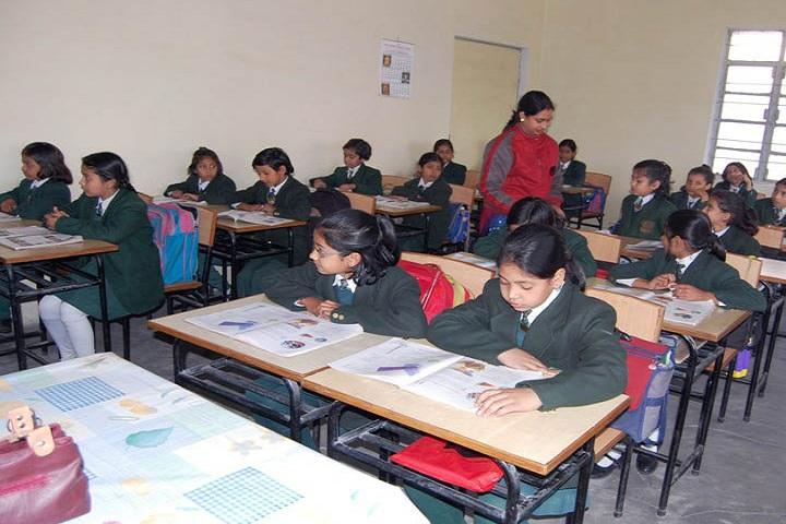 SS Children Academy Girls School-Classroom