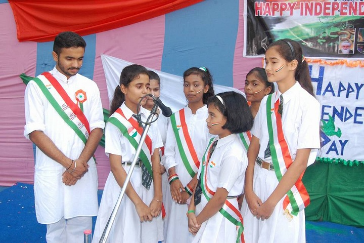 SS Children Academy Girls School-Independence Day