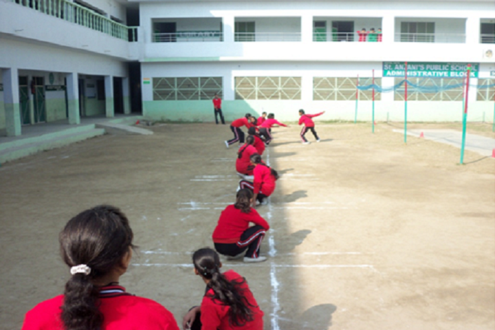 St Anjani s Public School-Sports