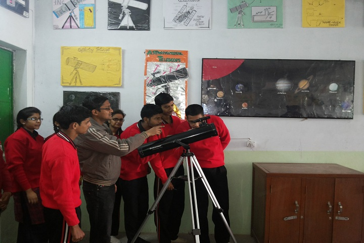 St Anjani s Public School-World Astronomy Day