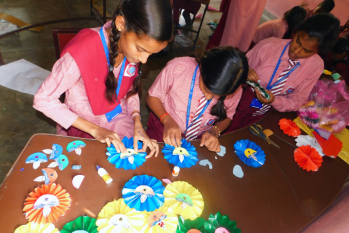 St Francis School For The Hearing Impaired-Craft Class