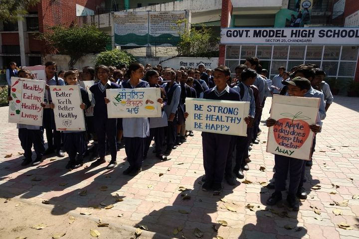 Government Model High School-Rally