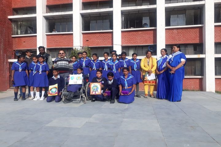 Government Model High School-Scout and Guides