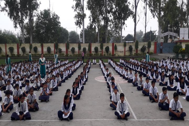 St Marys School-Yoga Day