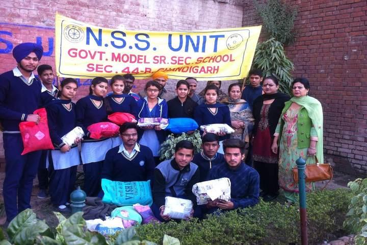 Government Model High School-NSS Activities