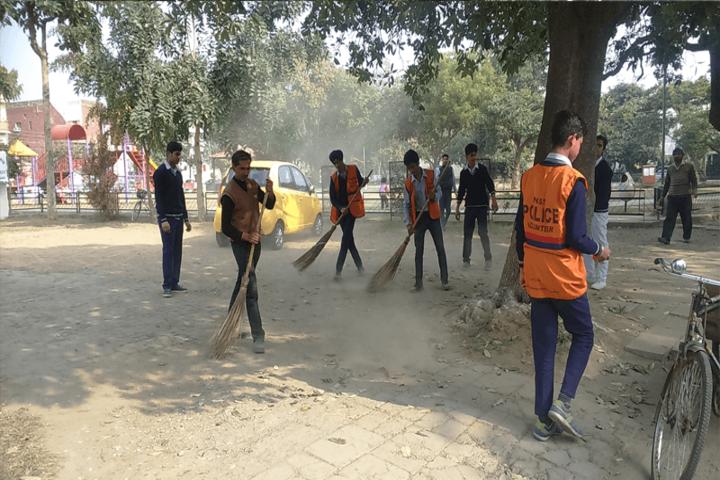 Government Model High School-Swachh Bharath