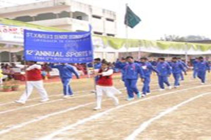 St Xavier High School-Sports Meet
