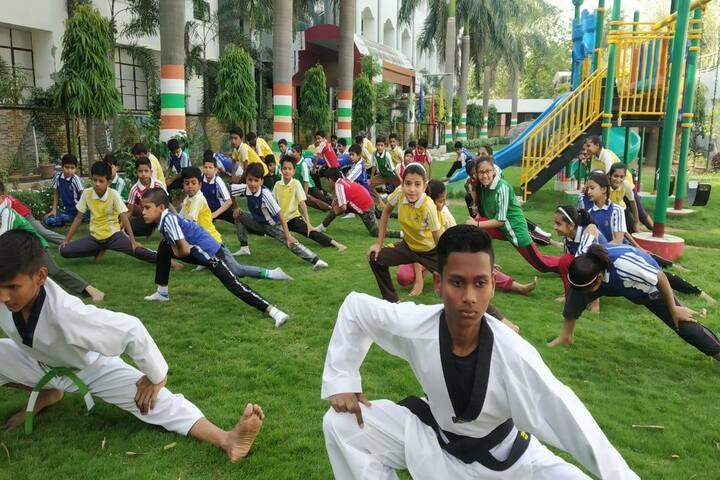 St Xavier School-Karate