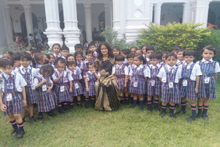 St Xaviers High School-Childrens group photo