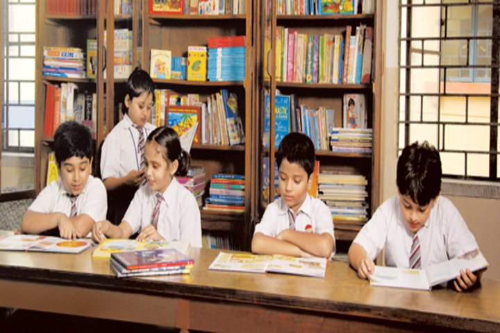 St Xavier S High School-Library
