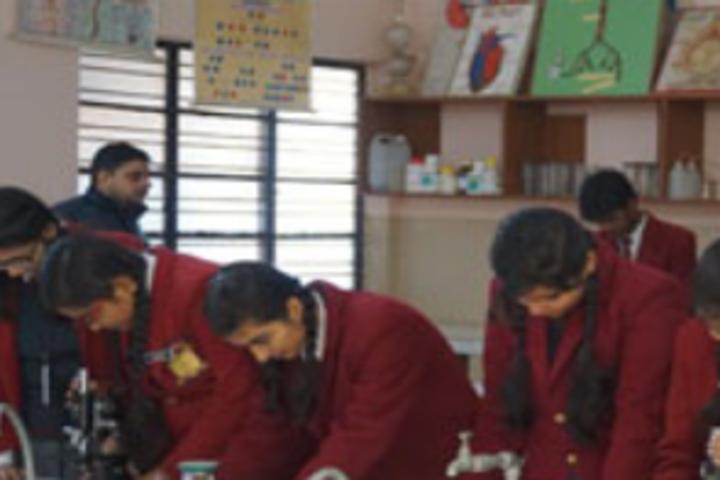 St Xaviers Public School-Bio Lab