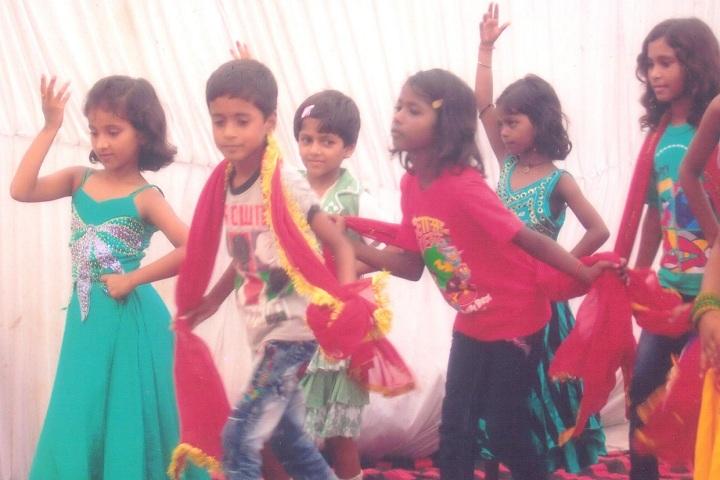 St Agnes V Convent School-Children dancing