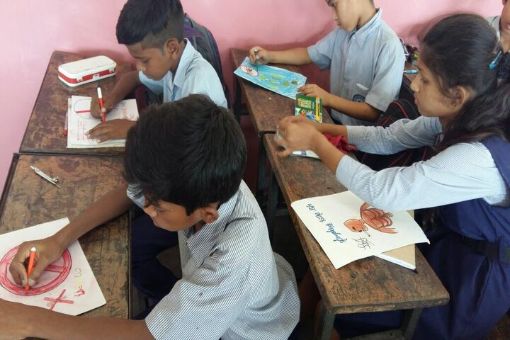 Government Model High School-Drawing Competition