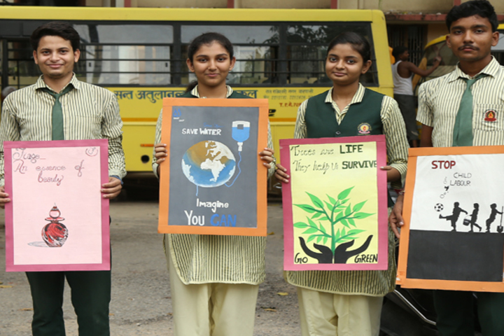 St Atulanand Convent School-Earth Day