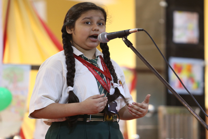 St Atulanand Convent School-Speech