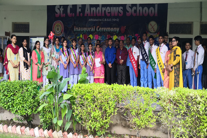 St C F Andrews School-Investiture Cermony