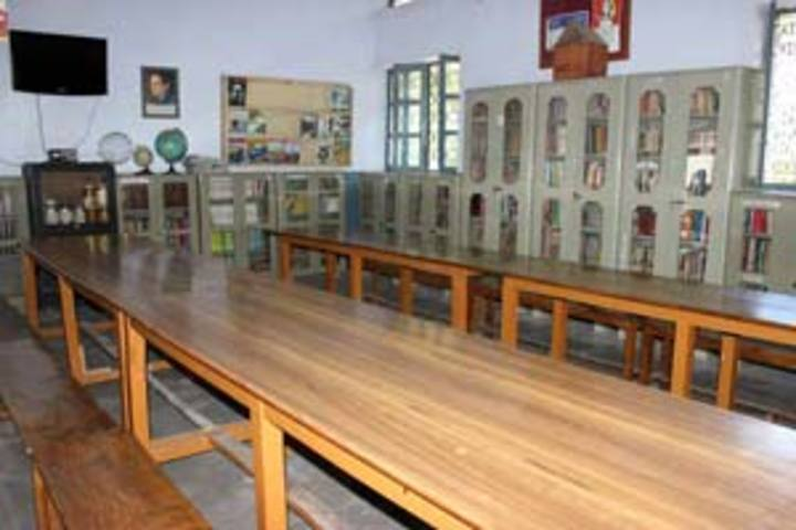 St Clares High School-Library