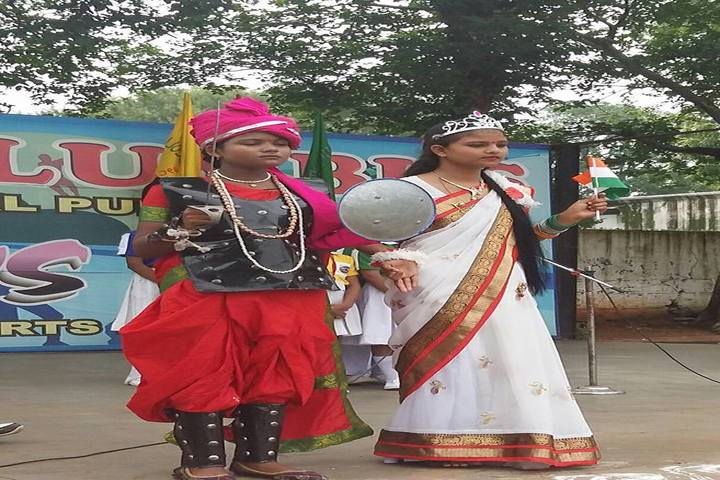 St Columbus International Public School-Fancy Dress Competiton