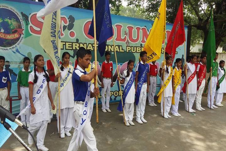 St Columbus International Public School-Investiture Ceremony