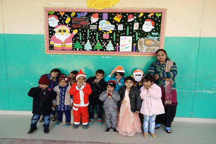 St Drona Public School-Christmas Celebrations