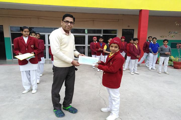 St Drona Public School-Prize Distribution
