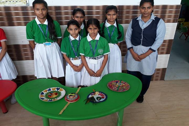 St George School-Rakhi Making Competition