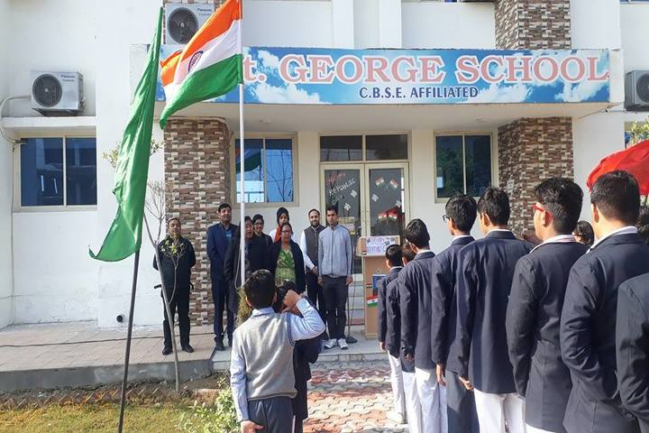 St George School-Republic Day