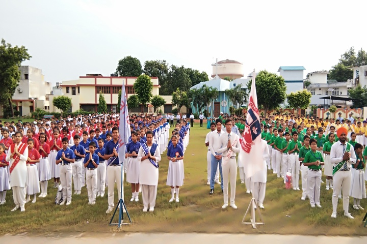 St Johns School-Investiture Cermony