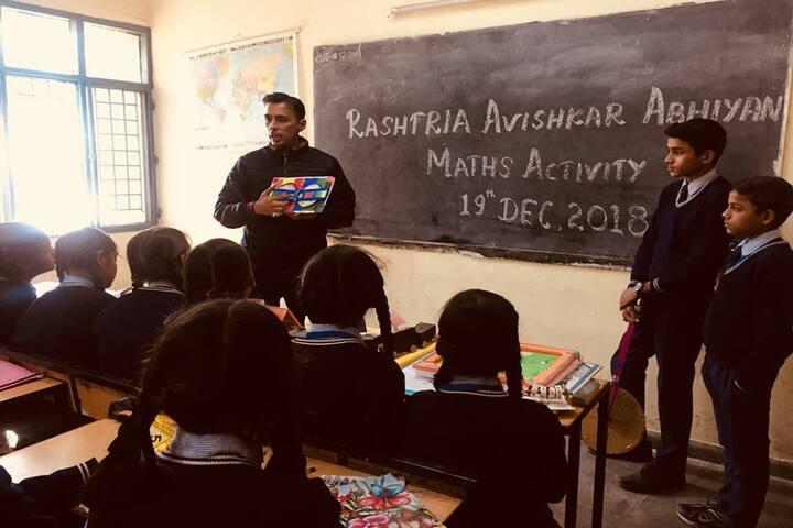 Government Model High School-Maths Activity