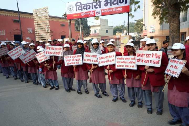 St Joseph School-Rally On Road Safety