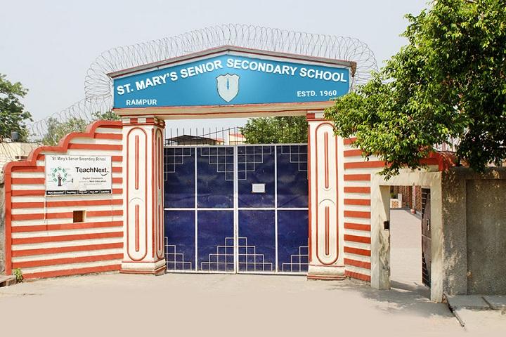 St MaryS Senior Secondary School-School Front View