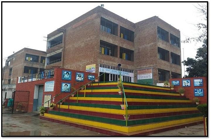Government Model High School-School Building