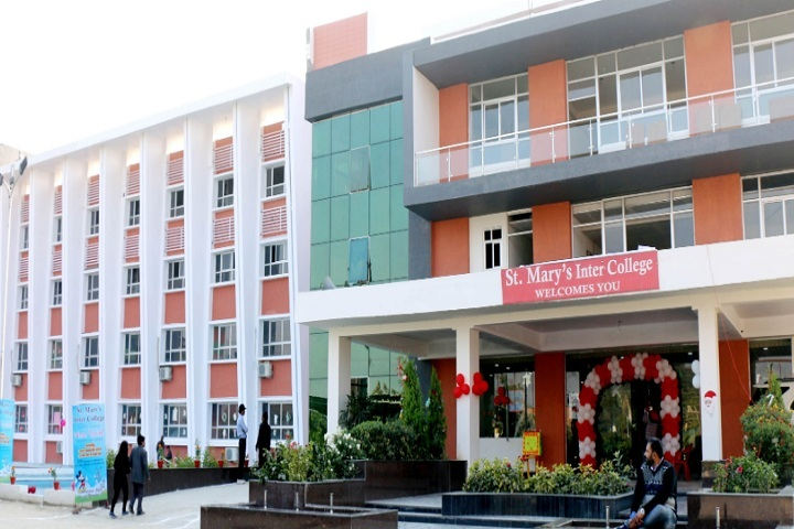 St MaryS Inter College-School Front View