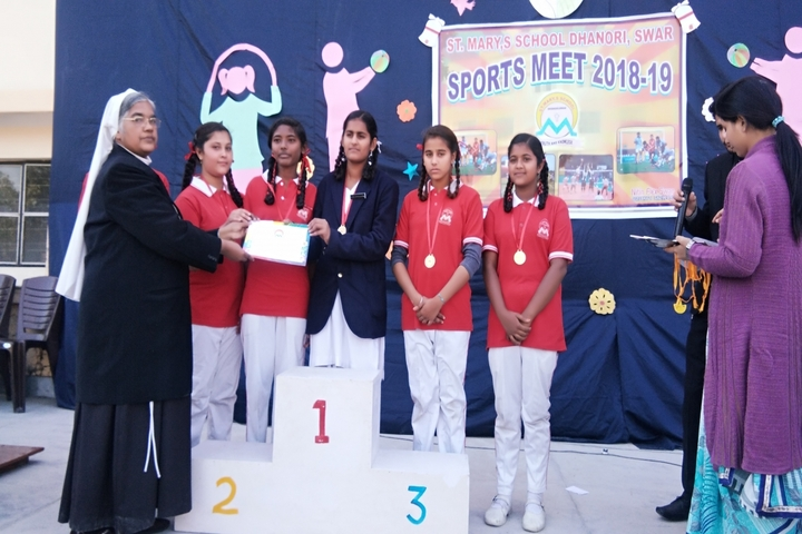 St Marys School-Sports Meet